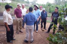 Visita de Fundación Osprey a la Comunidades de San José y El Borbollón