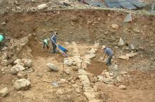 Construyendo sistemas de agua en Bolivia