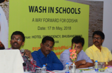 """""""WASH in schools: a way forward for Odisha"""", expert panel discussion, Bhubaneswar, India, 17 May 2018"""