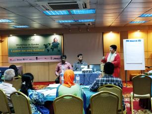Gender and social inclusion workshop by Watershed