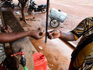 Water kiosk, Banfora, Burkina Faso