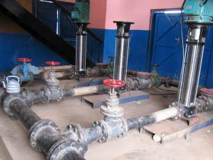 Ghana - water pipes