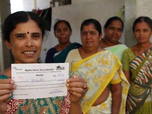 Water.org uses grant funds to mobilise micro-finance institutions with their Water Credit programme