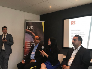 IRC IHE-Delft WASH Debate panel Sept 2018