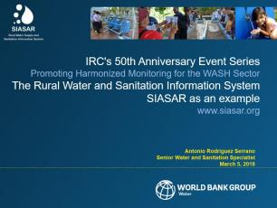 Webinar - Promoting Harmonized Monitoring for WASH